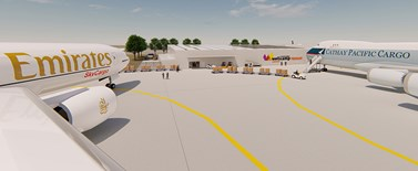 Regional Export Distribution Centre concept drawing