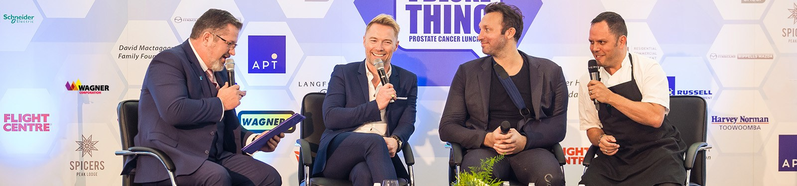 Wagner Corporation_Community Sponsorship_It's A Bloke Thing 2019 with Ronan Keating