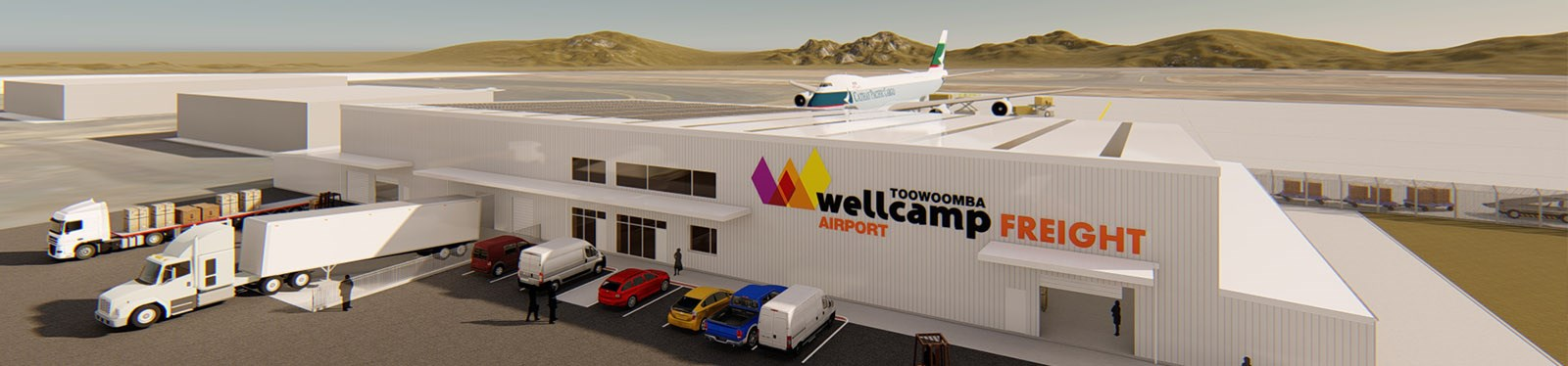 Wagner Corporation have been selected to deliver a Regional Trade Distribution Centre at Toowoomba Wellcamp Airport